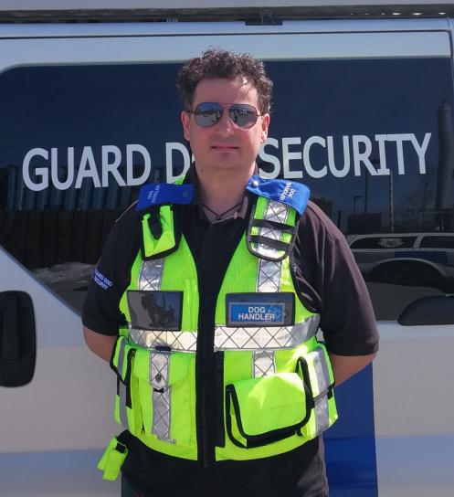 Guard Dog Patrolling Surrey