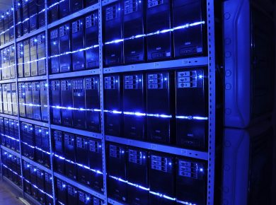 Data centres and server farms