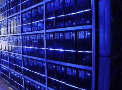 Data centres and server farms