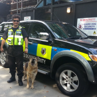 Building Site Dog Patrols London